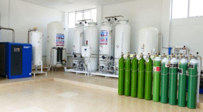 Plantas de oxígeno de Potosí y Tarija, paradas por desperfectos y mantenimiento