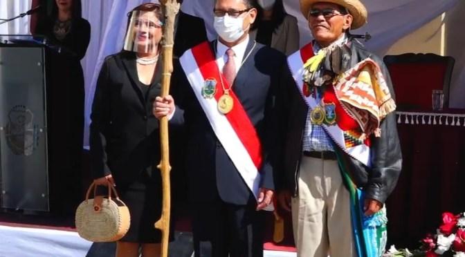 Oscar Montes es posesionado como gobernador de Tarija
