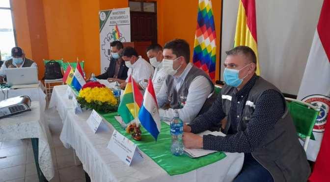 Entidades sanitarias de Bolivia y Paraguay coordinan acciones para fortalecer el comercio entre ambos países