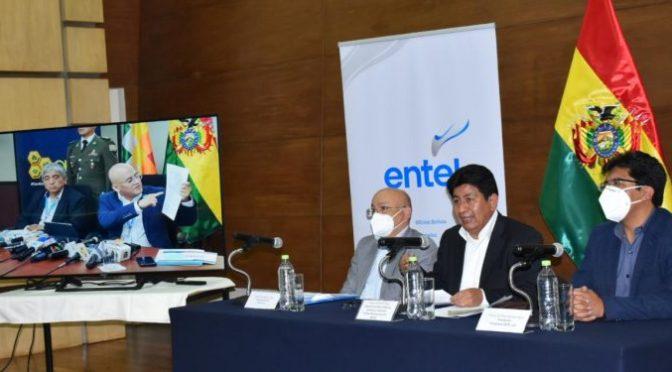 Montaño denuncia cuatro hechos de corrupción en ENTEL durante gestiones de Eddy Luis Franco y Elio Montes