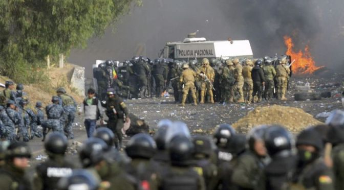 Fiscalía afirma que hubo un uso excesivo de la fuerza de Policía y FFAA en Huayllani