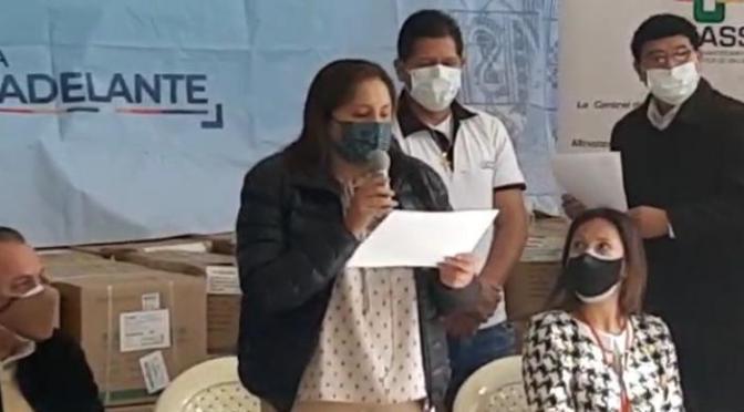 Gobierno entregó medicamentos valuados en Bs 4.1 millones para Tarija
