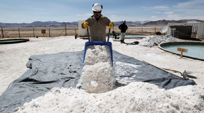 Bolivia se mantiene en el primer lugar con reservas de litio que llegan a 21 millones de toneladas