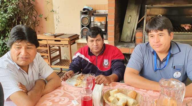 Piden renuncia del vicepresidente del comité cívico, Alex Orellana, por reunión con Morales
