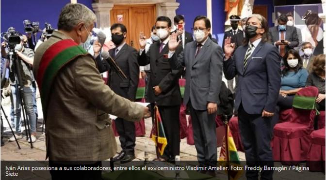 La Paz:Seis exautoridades de los gobiernos de Añez y Morales vuelven a la función pública