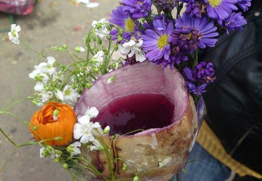 Comerciantes ofertan chicha de uva en ajipa para este martes, una tradición de Corpus Christi