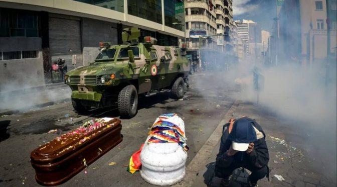 Golpe del 2019 en Bolivia: un proceso penal ordinario permite justicia a Senkata y Sacaba