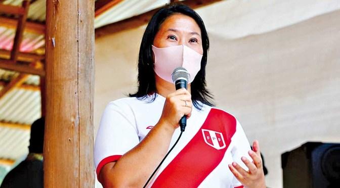 Justicia peruana evaluará el 21 de junio si Keiko Fujimori vuelve a prisión