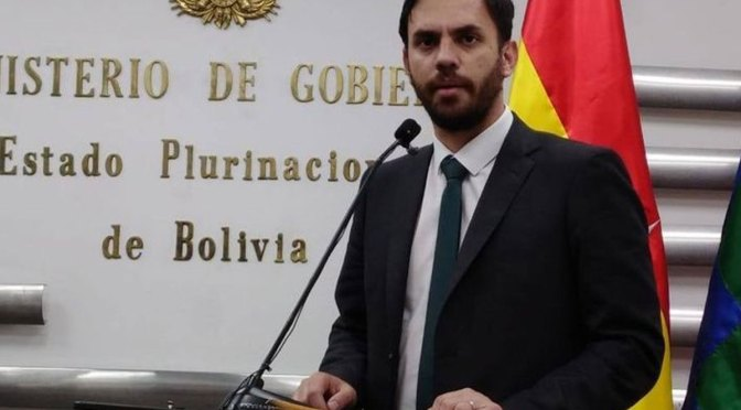 Del Castillo dice que el caso Golpe de Estado puede cerrarse con las declaraciones de Añez