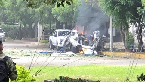 Colombia: Explotan dos carros bomba y hay 36 heridos