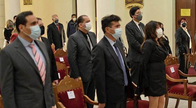 Sala Constitucional anula designación de vocales y jueces