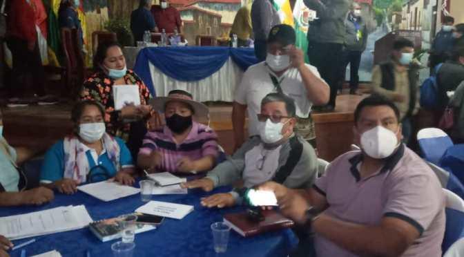 Ministerios dejan plantadas a instituciones del Bloque del Sur