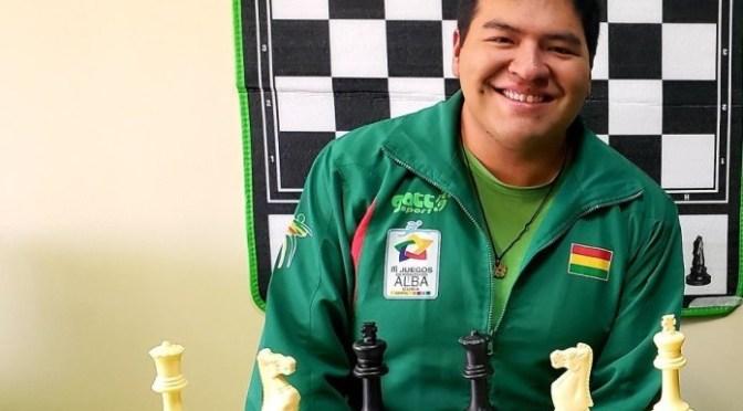 Boliviano Borda integra Comité de Entrenadores de FIDE América