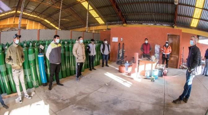 La Alcaldía de Cochabamba dotará oxígeno medicinal de forma gratuita