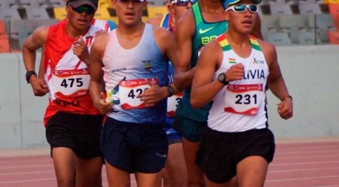 El Tunka Ninavia es oro en los 5.000 del Sudamericano U-20