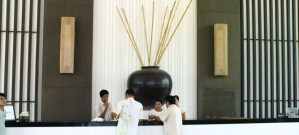reception desk - Kantary Bay resort