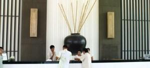 reception desk - Kantary Bay resort