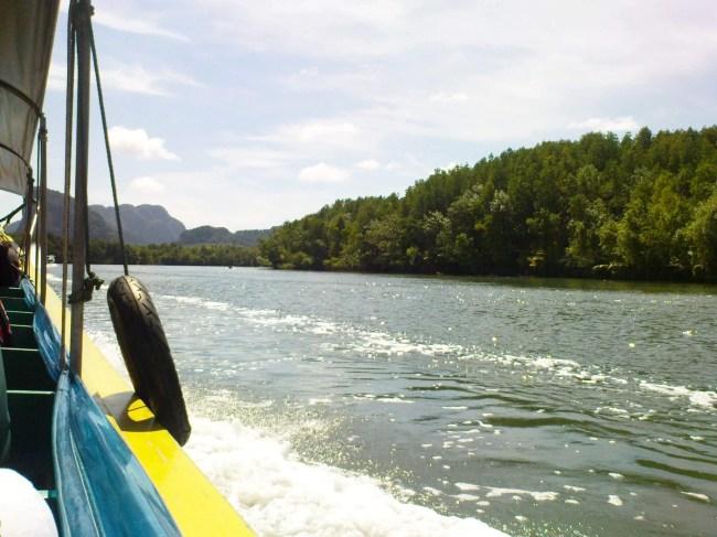 sailing in Phang Nga Bay