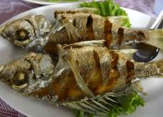 Grilled Fish at Panyee village