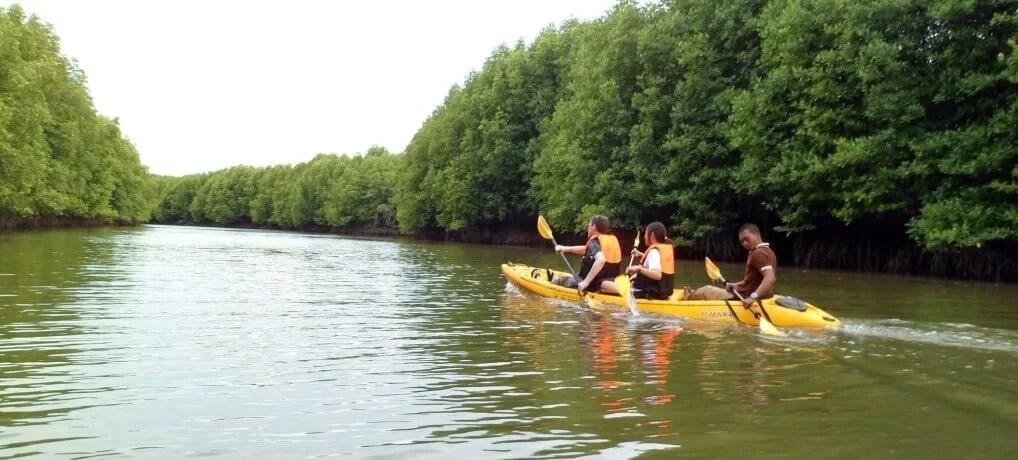 Day 1 – Exploring Koh Klang: Fish Farm & Kayaking