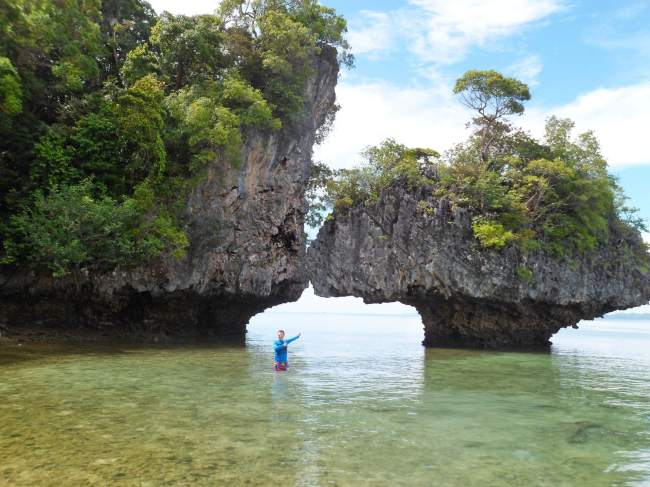 design of nature in the andaman sea