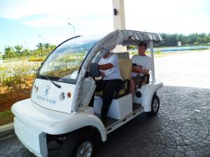 eco friendly car at Kantary Bay Resort