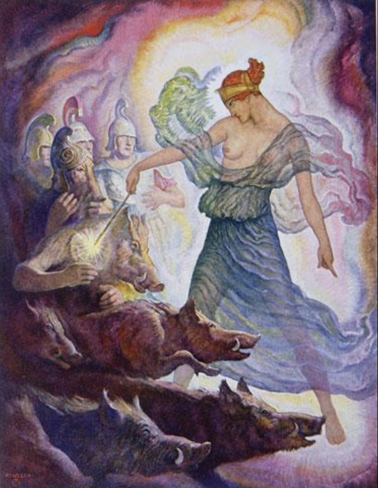 Circe S Transformations Art Images Of The Greek Sorceress