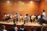 Concierto de Navidad 2016 - Guitarristas en pleno concierto