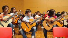 III Encuentro Guitarra Suzuki - Sinos perdemos, miramos al profesor