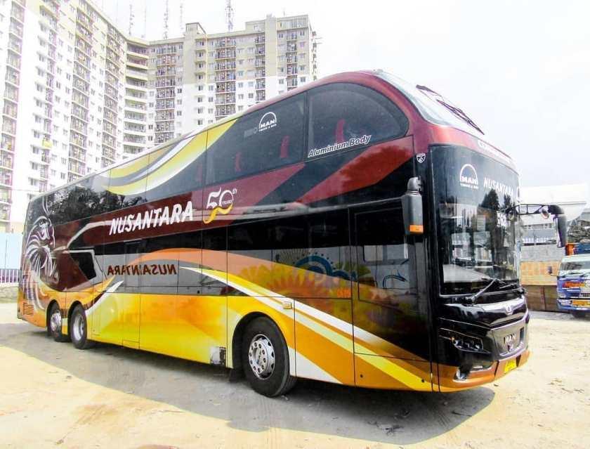 Daftar Harga Sewa Bus Pariwisata Terbaru