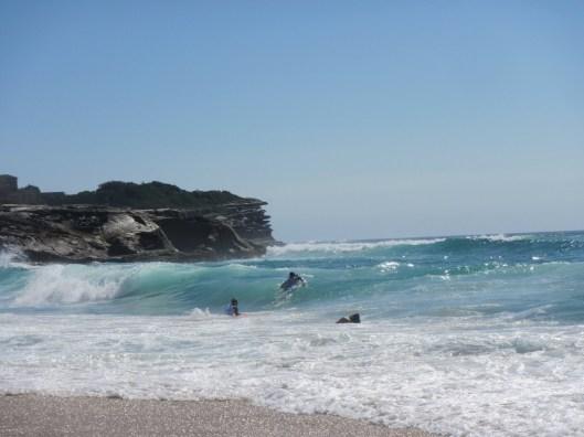 Bronti pludmale Sidneja
