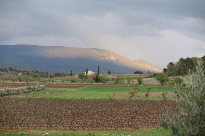 Luberon kalnu masīvi