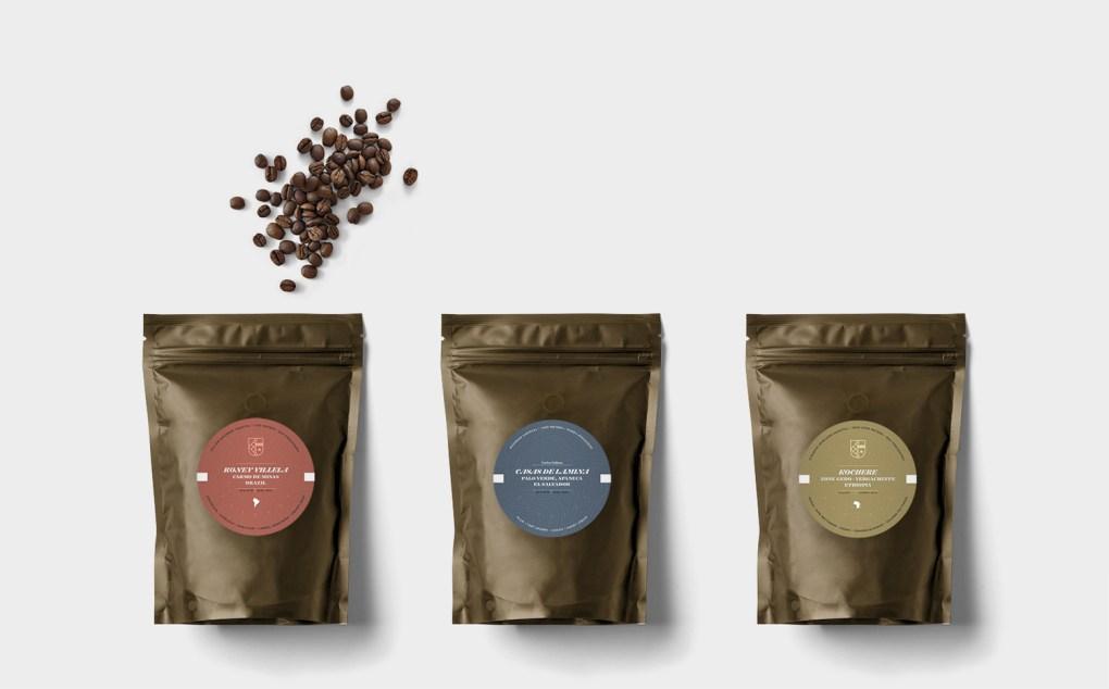 素敵なデザインのコーヒーパッケージ30