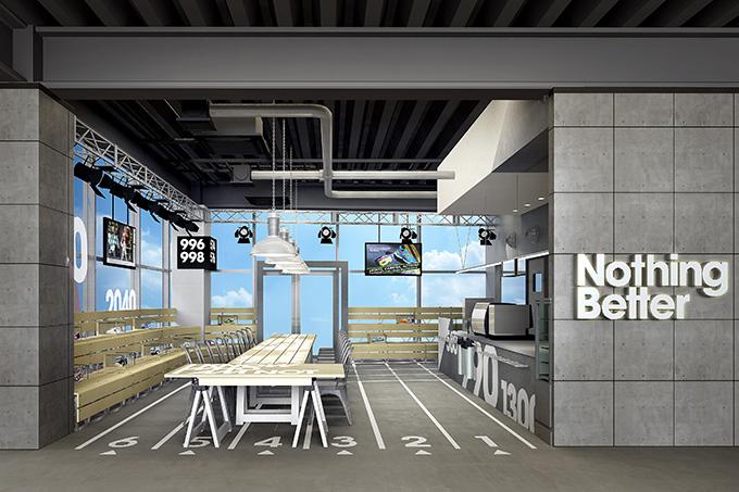 ニューバランスがカフェ「Nothing Better」をオープン メニューは豪華な2人がプロデュース