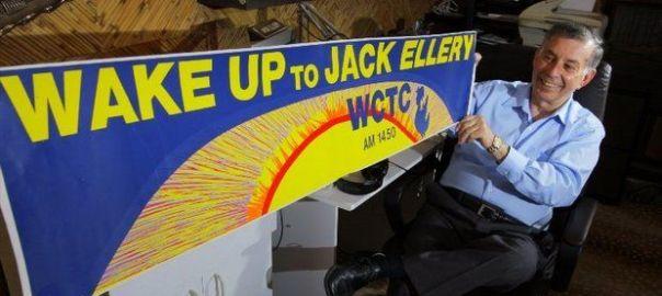 Jack Ellery, WCTC radio, Central New Jersey