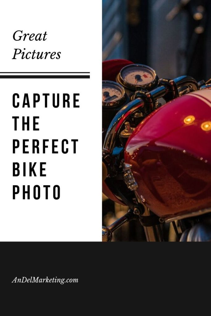 Learn how to take great motorcycle photos #motorcycle #photography #motorcyclemarketing