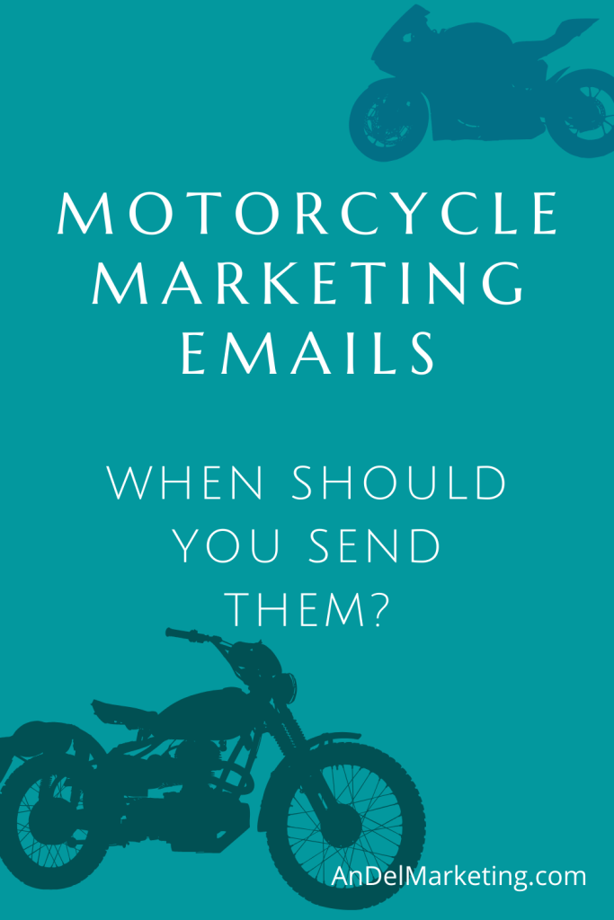Motorcycle marketing emails done right. Learnt o make your campaign a succcess. #motorcycle #marketing #email #emailmarketing #motorcyclemarketing