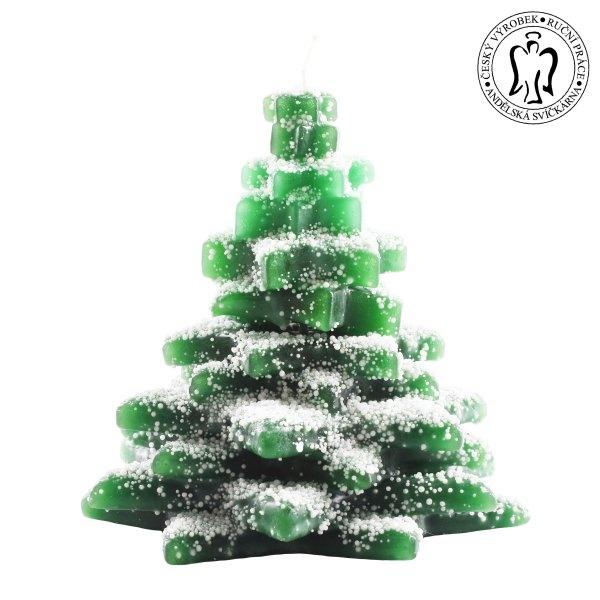 Vánoční svíčka - stromeček, Andělská svíčkárna, Christmas candle, christmas tree, Angels candles 01