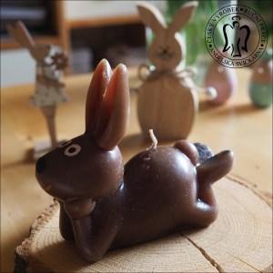 Velikonoční svíčka zajíc, velikonoční svíčky, velikonoční zajíc, zajíček, easter bunny, easter canlle 01