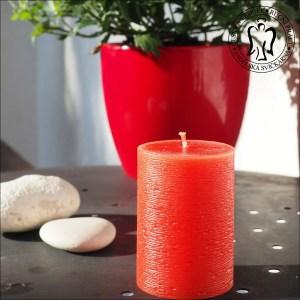 Svíčka, válec červený, svíčky, červené svíčky, svíčky válce, válcové svíčky, cylinder candles, red candles ma12