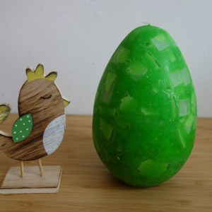 Velikonoční vajíčko – velké – zelené