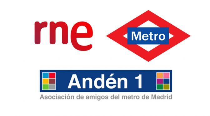 Entrevista en RNE con motivo del 97 aniversario del metro de Madrid