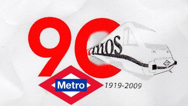 90 años de metro
