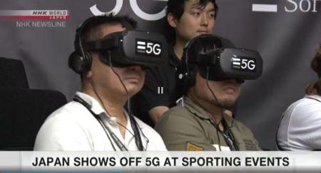 5G, virtual reality, NHK