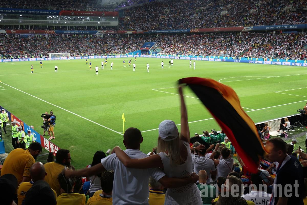 GERSWE, Fisht Stadium, Sochi, 2018 World Cup, Projekt Anderen,