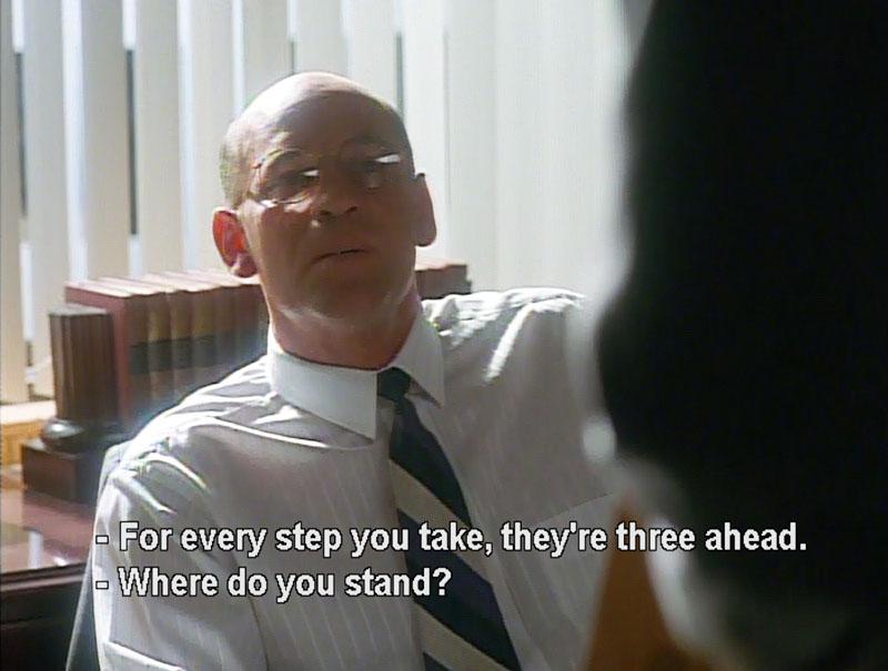 F. Emasculata, The X-Files Season 2, 2X22, Walter Skinner, Mitch Pileggi