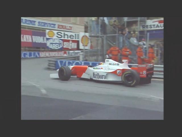 David Coulthard wearing a mist-proof helmet borrowed from Michael Schumacher, Formula 1 1996 Monaco Grand Prix, 古達, 1996年一級方程式摩納哥站