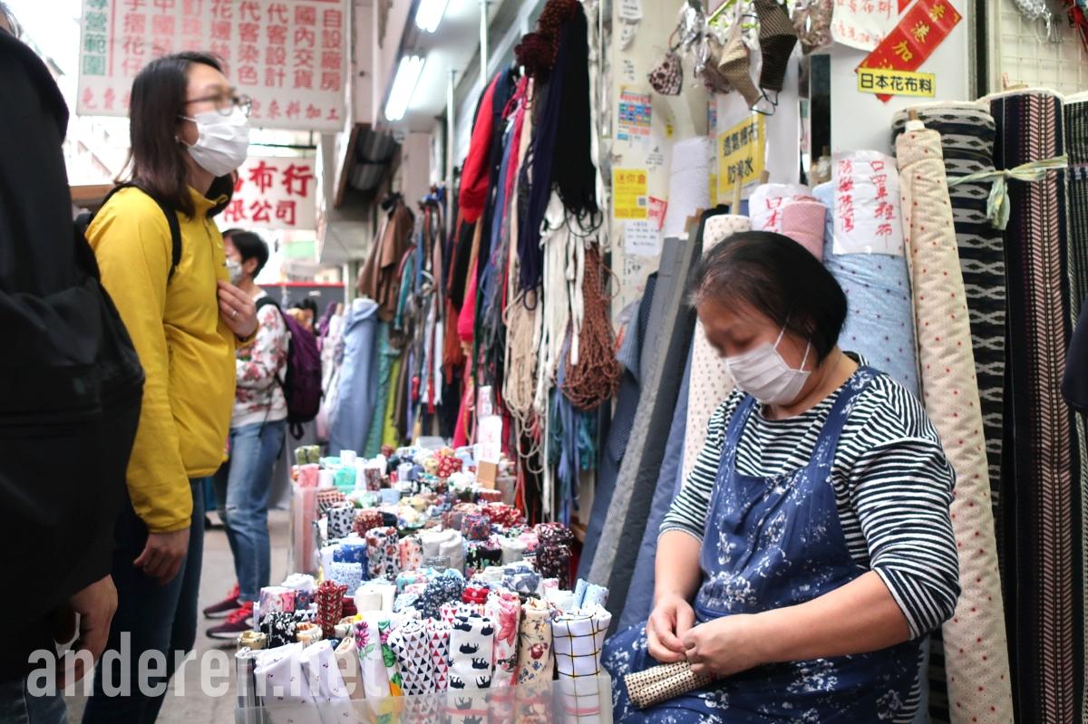 DIY masks. 布口罩, 自製口罩, 民間口罩, 深水埗, Sham Shui Po, Projekt Anderen