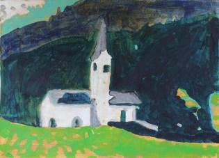 Kerkje in Frankrijk