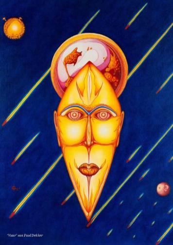 Paul Dekker - Outsider Art kosmische ontmoetingen